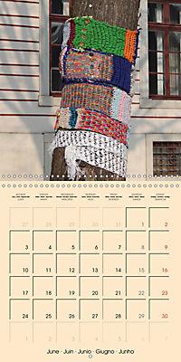 Urban Knitting (Wall Calendar 2019 300 × 300 mm Square) - Produktdetailbild 6