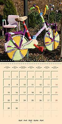 Urban Knitting (Wall Calendar 2019 300 × 300 mm Square) - Produktdetailbild 4