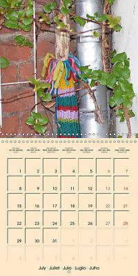 Urban Knitting (Wall Calendar 2019 300 × 300 mm Square) - Produktdetailbild 7