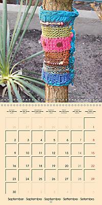 Urban Knitting (Wall Calendar 2019 300 × 300 mm Square) - Produktdetailbild 9
