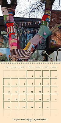 Urban Knitting (Wall Calendar 2019 300 × 300 mm Square) - Produktdetailbild 8