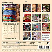 Urban Knitting (Wall Calendar 2019 300 × 300 mm Square) - Produktdetailbild 13
