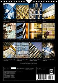Urbane Texturen Barcelona (Wandkalender 2019 DIN A4 hoch) - Produktdetailbild 13