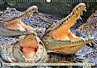 Urzeitreptilien - Krokodil (Wandkalender 2019 DIN A3 quer) - Produktdetailbild 1