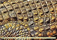 Urzeitreptilien - Krokodil (Wandkalender 2019 DIN A3 quer) - Produktdetailbild 9