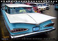 US DREAM CARS - Flossen-Mobile (Tischkalender 2019 DIN A5 quer) - Produktdetailbild 9