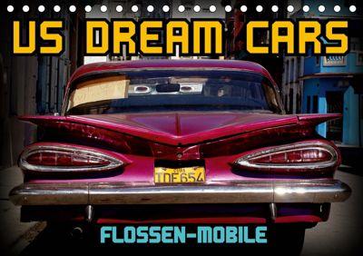 US DREAM CARS - Flossen-Mobile (Tischkalender 2019 DIN A5 quer), Henning von Löwis of Menar