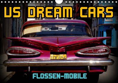 US DREAM CARS - Flossen-Mobile (Wandkalender 2019 DIN A4 quer), Henning von Löwis of Menar