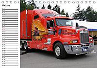 US-Trucks. Faszination Langhauber (Tischkalender 2019 DIN A5 quer) - Produktdetailbild 5