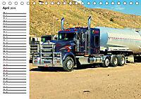 US-Trucks. Faszination Langhauber (Tischkalender 2019 DIN A5 quer) - Produktdetailbild 4