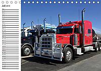 US-Trucks. Faszination Langhauber (Tischkalender 2019 DIN A5 quer) - Produktdetailbild 7