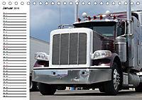 US-Trucks. Faszination Langhauber (Tischkalender 2019 DIN A5 quer) - Produktdetailbild 1
