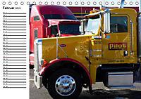 US-Trucks. Faszination Langhauber (Tischkalender 2019 DIN A5 quer) - Produktdetailbild 2