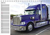 US-Trucks. Faszination Langhauber (Tischkalender 2019 DIN A5 quer) - Produktdetailbild 6