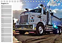 US-Trucks. Faszination Langhauber (Tischkalender 2019 DIN A5 quer) - Produktdetailbild 8