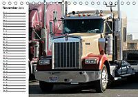 US-Trucks. Faszination Langhauber (Tischkalender 2019 DIN A5 quer) - Produktdetailbild 11