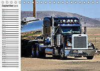 US-Trucks. Faszination Langhauber (Tischkalender 2019 DIN A5 quer) - Produktdetailbild 9