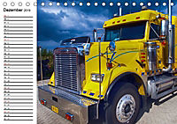 US-Trucks. Faszination Langhauber (Tischkalender 2019 DIN A5 quer) - Produktdetailbild 12