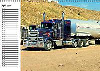 US-Trucks. Faszination Langhauber (Wandkalender 2019 DIN A3 quer) - Produktdetailbild 4