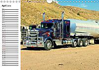 US-Trucks. Faszination Langhauber (Wandkalender 2019 DIN A4 quer) - Produktdetailbild 4