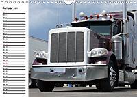 US-Trucks. Faszination Langhauber (Wandkalender 2019 DIN A4 quer) - Produktdetailbild 1