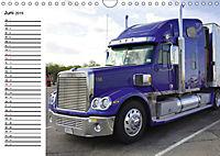 US-Trucks. Faszination Langhauber (Wandkalender 2019 DIN A4 quer) - Produktdetailbild 6