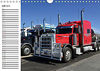US-Trucks. Faszination Langhauber (Wandkalender 2019 DIN A4 quer) - Produktdetailbild 7