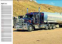 US-Trucks. Faszination Langhauber (Wandkalender 2019 DIN A2 quer) - Produktdetailbild 4
