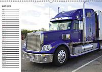 US-Trucks. Faszination Langhauber (Wandkalender 2019 DIN A3 quer) - Produktdetailbild 6