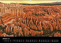 USA Landschaftskalender (Wandkalender 2019 DIN A2 quer) - Produktdetailbild 1