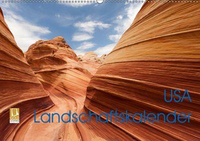 USA Landschaftskalender (Wandkalender 2019 DIN A2 quer), Patrick Leitz