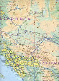 USA Pacific Coast 1 : 1 000 000 - Produktdetailbild 2