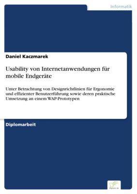Usability von Internetanwendungen für mobile Endgeräte, Daniel Kaczmarek