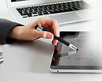 USB-Kugelschreiber 3 in 1, 8 GB, schwarz - Produktdetailbild 2