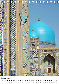Usbekistan - Zauber der Seidenstrasse (Tischkalender 2019 DIN A5 hoch) - Produktdetailbild 3