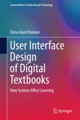 User Interface Design of Digital Textbooks, Elena Railean