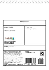Utah Impressionen (Tischkalender 2019 DIN A5 hoch) - Produktdetailbild 13