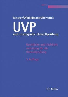 UVP und strategische Umweltprüfung, Erich Gassner, Arnd Winkelbrandt, Dirk Bernotat