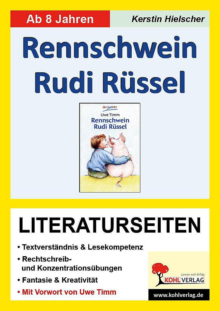 Uwe Timm Rennschwein Rudi Rüssel Literaturseiten Buch Kaufen