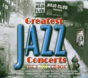 V.A.-Greatest Jazz Concerts I, Diverse Interpreten