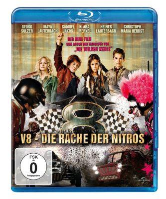 V8 - Die Rache der Nitros, Joachim Masannek