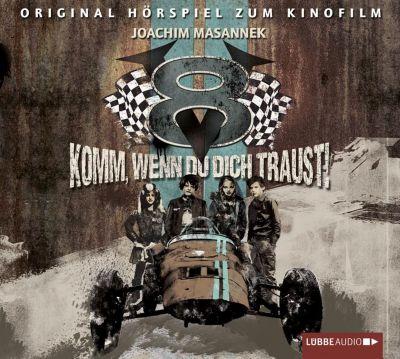 V8 - Komm, wenn du dich traust!, 2 Audio-CDs, Joachim Masannek