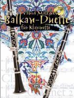Vahid Matejkos Balkan-Duette, für 2 Klarinetten, m. Audio-CD, Vahid Matejko