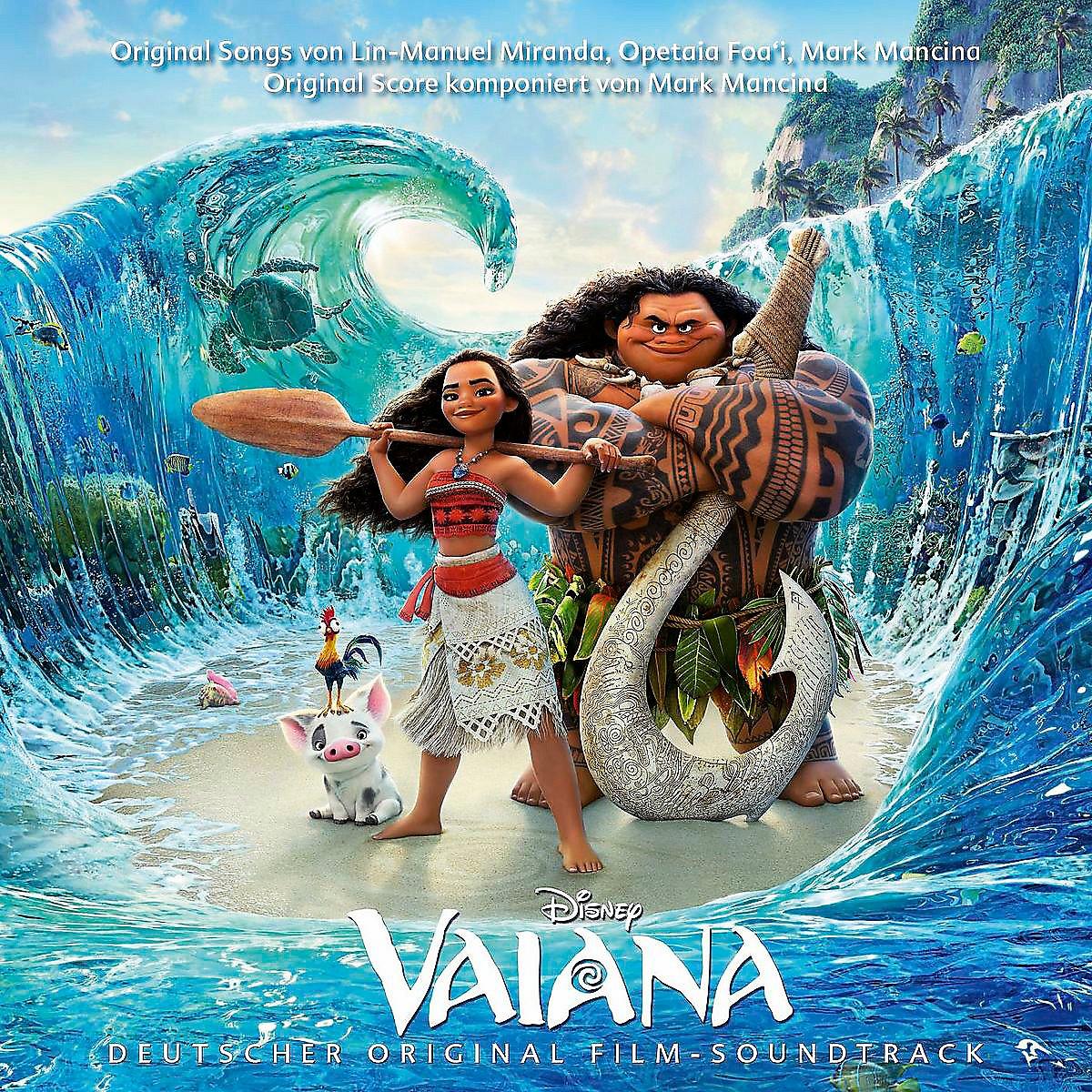 Vaiana Original Soundtrack Deutsche Version von Various | Weltbild.de