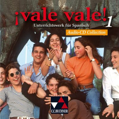 Vale vale!: Bd.1 Audio-CD Collection, 2 Audio-CDs