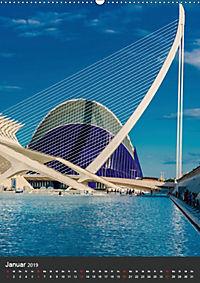 Valencia entdecken (Wandkalender 2019 DIN A2 hoch) - Produktdetailbild 1