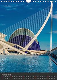 Valencia entdecken (Wandkalender 2019 DIN A4 hoch) - Produktdetailbild 1