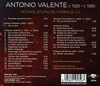 Valente-Intavolatura De Cimbalo - Produktdetailbild 1