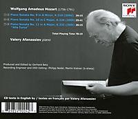 Valery Afanassiev Plays Mozart - Produktdetailbild 1