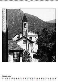 Valle Cannobina - Einsame Dörfer im Piemont (Wandkalender 2019 DIN A2 hoch) - Produktdetailbild 1
